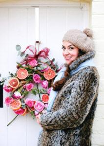 cherry-menlove-pomegranate-wreath-christmas-crafts-610x860