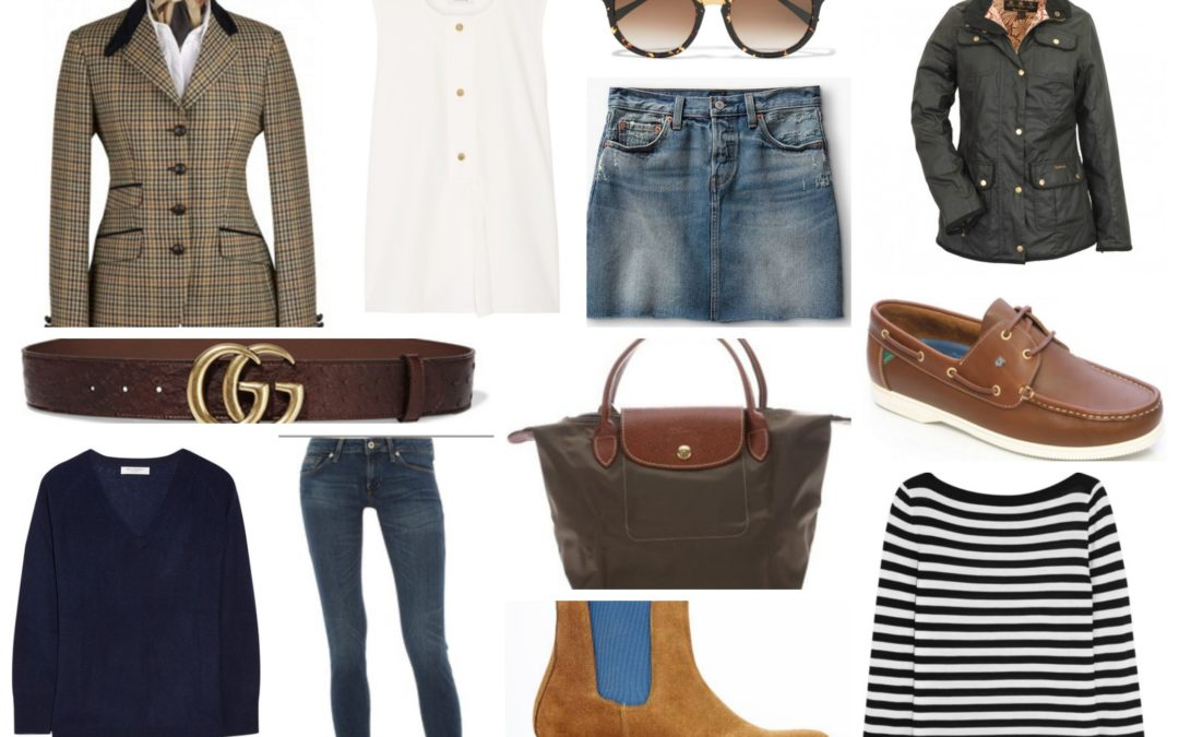 Spring/Summer Capsule Wardrobe-Country & Urban Style