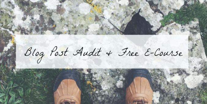 blog post audit free slow blog