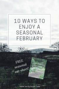 ways to seasonal natural february seasonal living
