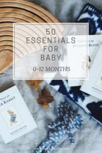 essentials for newborn baby must haves natural organic baby