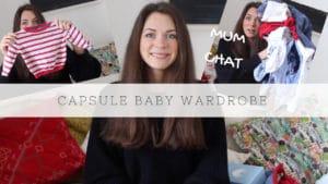capsule wardrobe baby 3-6 months