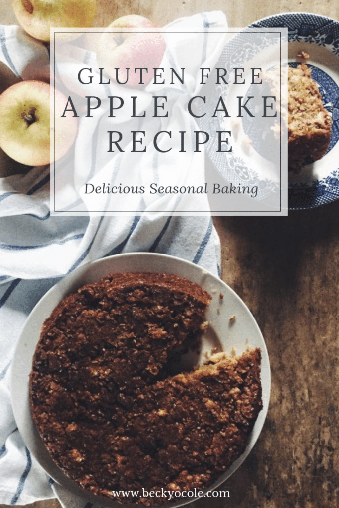 gluten free apple cake recipe