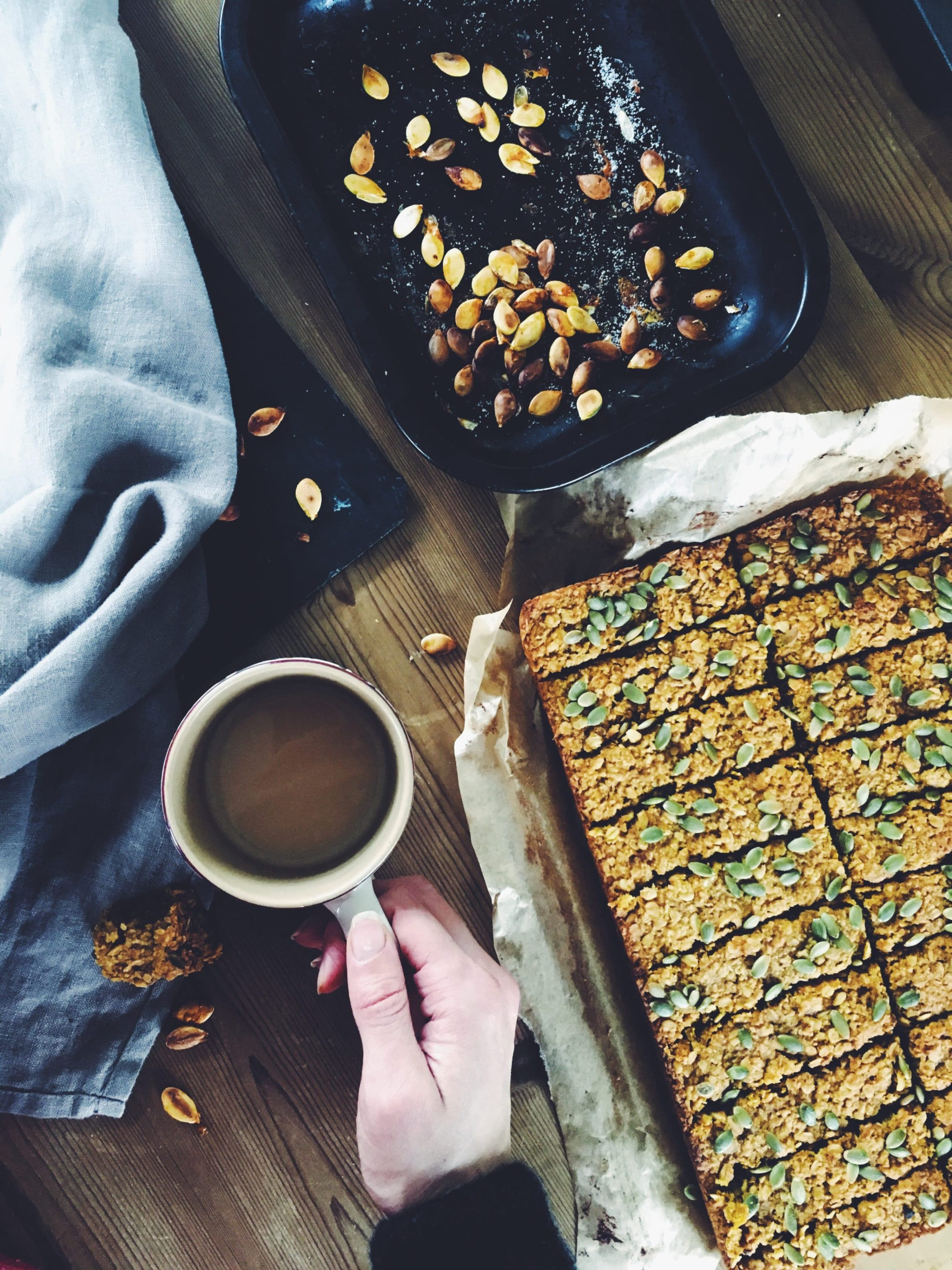 Spiced Pumpkin Flapjacks Recipe-Two Ways