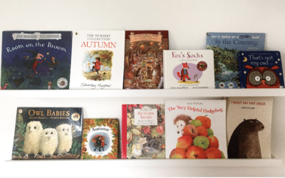 Autumn Fall Books for Toddlers-20 Month Book Shelf