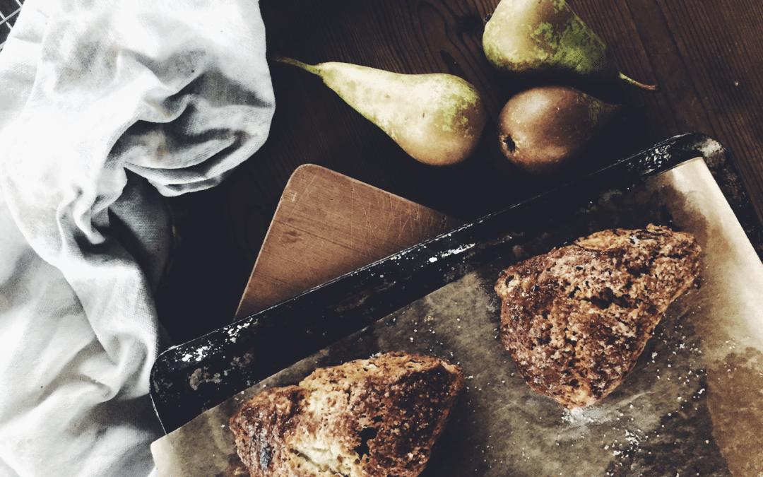 pear chocolate scone recipe uk becky cole