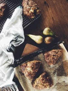 pear-chocolate-scones