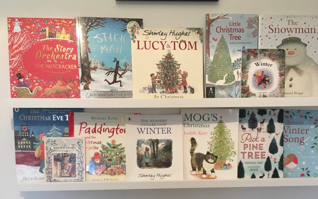 Seasonal Books for Winter-Toddler bookshelves