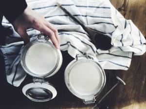 how to make yoghurt home homemade yoghurt lactose free homesteading