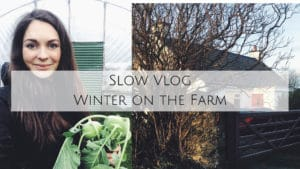 slow living polytunnel no dig homesteading