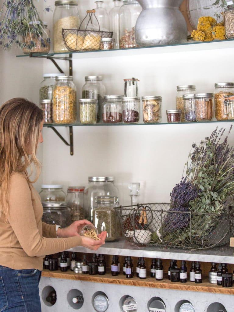 home apothecary homesteading herbs garden online