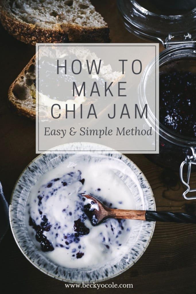 low sugar jam recipe chia jam recipe