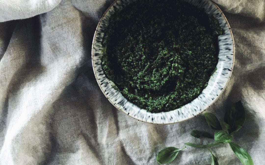 Wild Garlic and Three Cornered Leek Spring Pesto Recipe