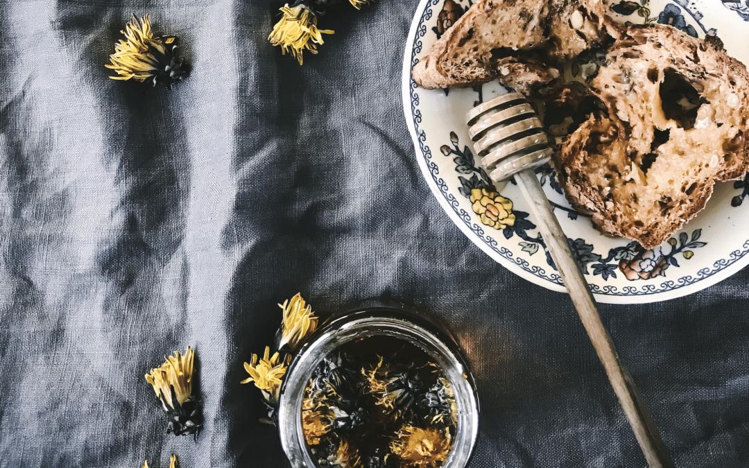 dandelion honey recipe infused