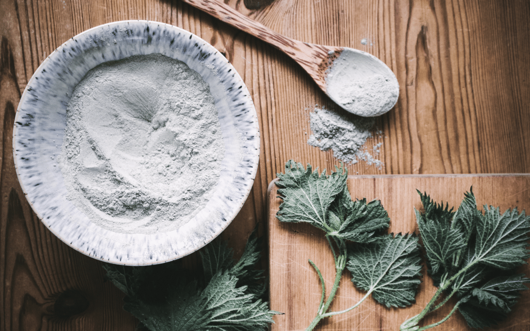 Spring Nettle & Lavender Clay Mask Recipe-Natural Skincare