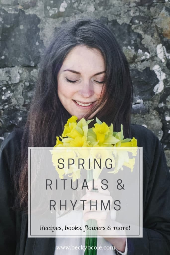 spring rituals rhythms spring books flowers