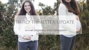 third trimester pregnancy hashimotos hypothyroidism symptons