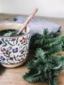 nettle latte recipe nettles recipes