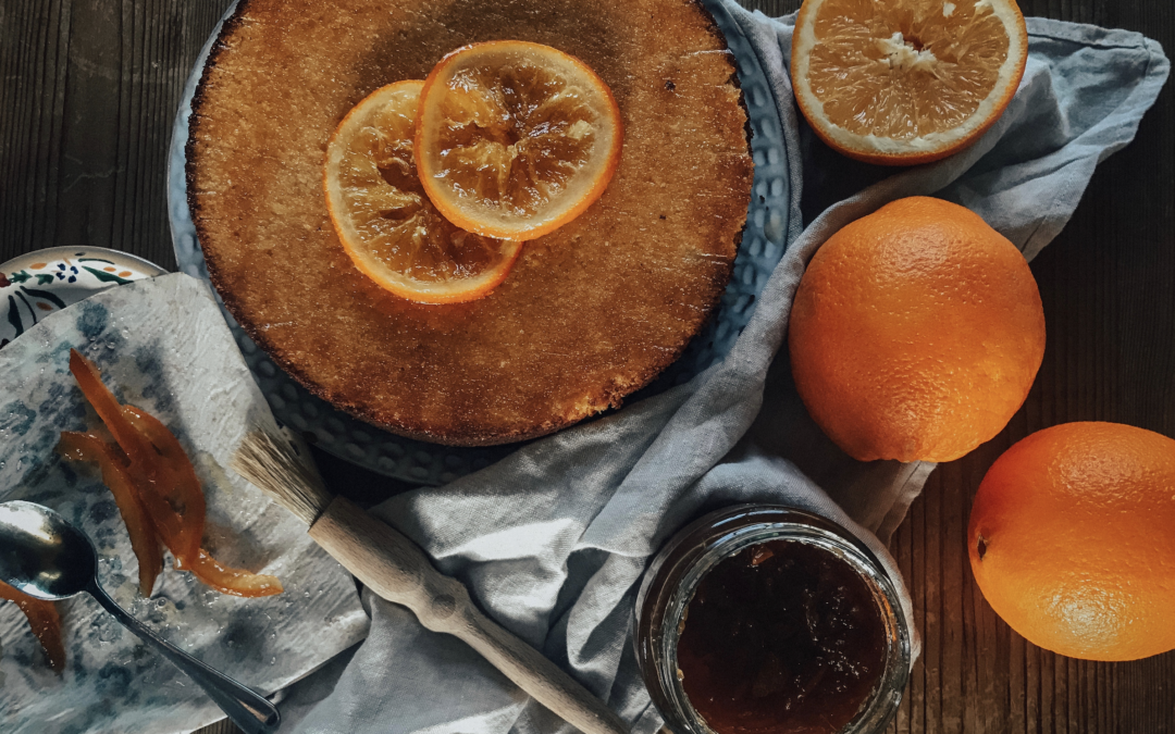 Marmalade Orange Cake | Winter Recipe