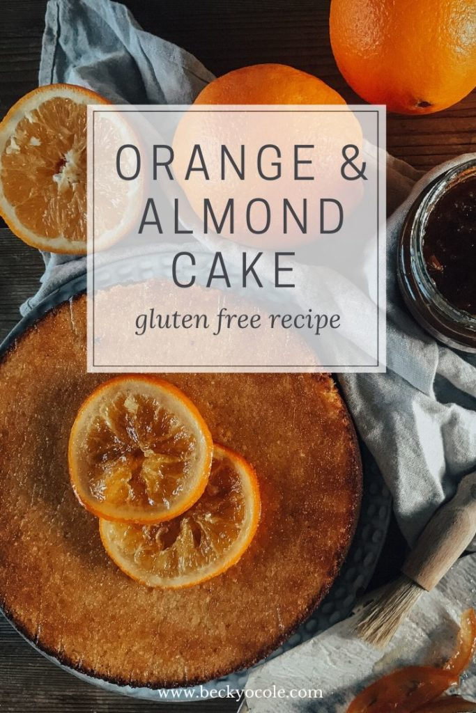 marmalade orange almond cake becky o cole winter recipes