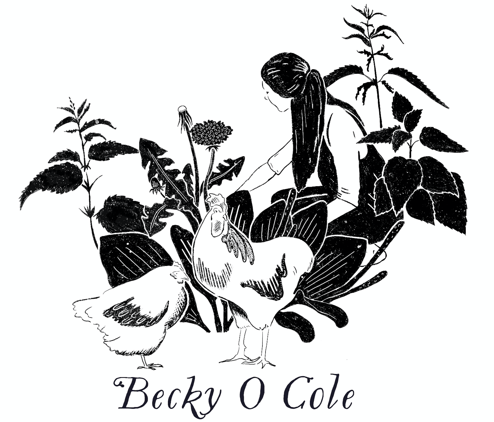 Becky O Cole | Slow Living, Herbalism, Gardening, Motherhood Cottage Life